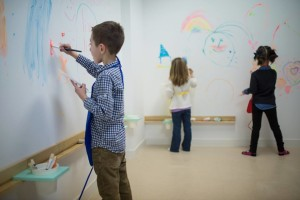 Paint on the wall at MiMa!