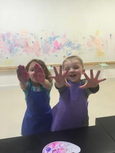 Finger Painting!!