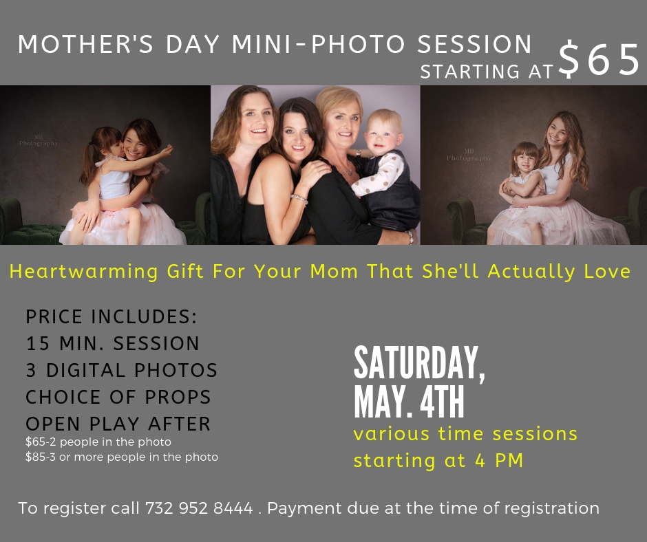 Mother's Day Mini Photo SessionMiMa Create and Play